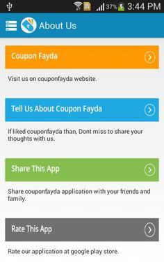 Coupon Fayda - screenshot