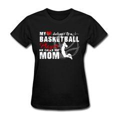 Basketball Player Mom Women's T-Shirt