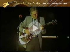 Chet Atkins - Fingerstyle Guitar Medley - http://dailyvideo.guitars/chet-atkins-fingerstyle-guitar-medley/ -  Chet Atkins plays a fingerstyle guitar medley. I thought his swimming pool joke was funny, even if the audience missed it.