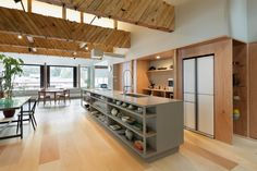 """Completed in 2016 in Japan. Images by Takumi Ota. The Harmony between Architecture and Belongings across Time: A Former """"Kenban"""" Turned Into a Home   Kinosaki Onsen, located in Hyogo Prefecture, is..."""