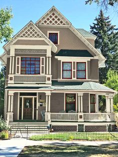 670 Stick Style Victorian Ideas In 2021 Victorian Victorian Homes House Styles