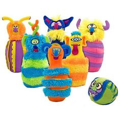 Melissa and Doug Monster Bowling Set - I WANT THESE!