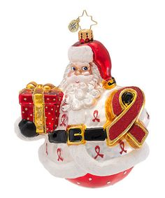 Another great find on #zulily! Claus for a Cure Ornament #zulilyfinds