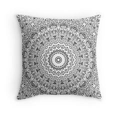 Mandela Design Mandela Pattern Throw Pillow & More