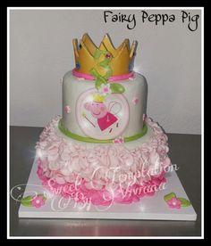 Fairy Peppa Pig Cake Fashion Peppa Pig Cake Bizcocho Peppa Pig