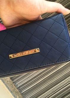 Kup mój przedmiot na #vintedpl http://www.vinted.pl/damskie-torby/portmonetki/14182565-granatowy-duzy-portfel