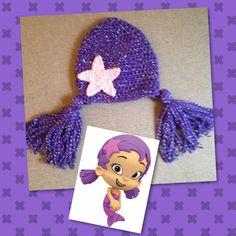 Crocheted Bubble Guppy Hat by KeepinItKozy on Etsy