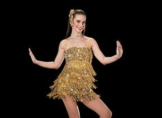 This is my competition jazz solo costume! Im dancing to Treasure by Bruno Mars Gatsby Costume, Jazz Dance Costumes, Recital, Ballet Dance, Formal Dresses, Inspiration, Video Link, Bruno Mars, Outfits