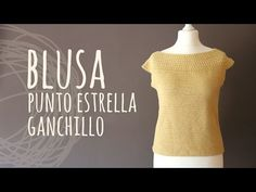 Tutorial Blusa Fácil Punto Estrella Ganchillo | Crochet