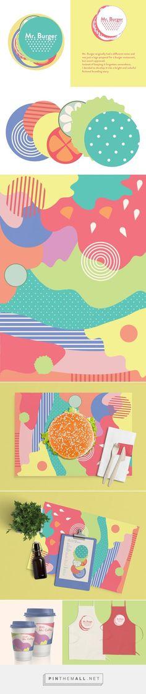 Mr. Burger Restaurant Branding by Ania Haho