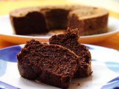 Gesunder Mousse au Chocolat-Kuchen mit Hülsenfrüchten (getreidefrei)