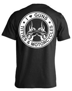 PERSONALISED COOL Motard organiste T Shirt Cadeau Gang anarchy noir moto