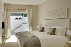 Thank you for considering Two Views villa for your stay in Camps Bay, Cape Town. Book with Us for the Lowest Rates available online, guaranteed! Awesome Bedrooms, Cape Town, Beach House, Villa, Bed Ideas, Camps, Luxury, South Africa, Table