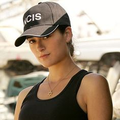 Ziva David of 'NCIS'. Another bad ass who I wish I could be lol.
