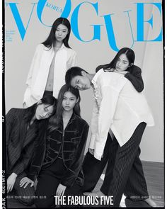 Sora Choi, Yoonyoung Bae, Hoyeon Jung, Hyunj Shin and Sohyun Jung by Less for Vogue Korea November 2018 Vogue Korea, Vogue India, Vogue Magazine Covers, Vogue Covers, Issue Magazine, Vogue Wallpaper, Sasha Pivovarova, Harper's Bazaar, Jon Kortajarena