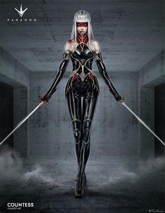 Paragon - Countess Concept Art