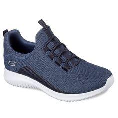 Skechers Ultra Flex Women's Shoes, Size: 5.5, Blue (Navy)