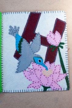 Beautiful hummingbird Quiet Book Page