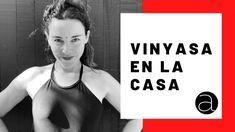"Vinyasa yoga un poco elevar 60"" con Camila Manns Vinyasa Yoga, Basic Yoga, Online Yoga, Youtube, Youtubers, Youtube Movies"