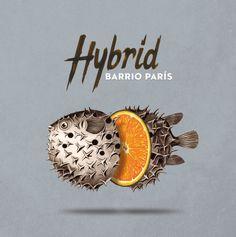 Cover for Hybrid album ofBarrio Parismusic band.  ByYeray Vega   Listen oniTunes