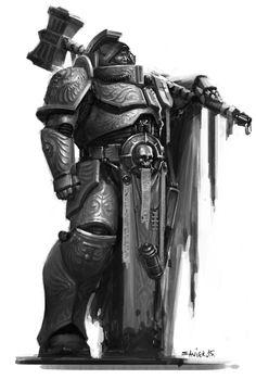 Inquisitor, Mikhail Savier on ArtStation at https://www.artstation.com/artwork/oWxmB