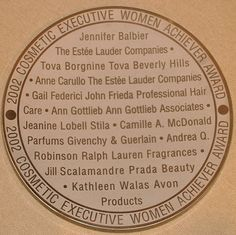 Cosmetic Executive Women Achiever Award,  2002  To be recognized by my fellow Cosmetic Industry Women Executive's was an honor and an emotional moment. Being in the company of such industry leaders and visionaries strengthens my passion and perseverance to continue creating products that will give every woman the ability to recognize and sense all of her individual beauty. With Love, Tova Executive Woman, Cosmetics Industry, Beauty Awards, Face And Body, Beverly Hills, Passion, Products, Women, Women's