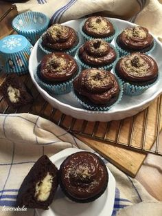Tejbegrízes muffin Muffin Recipes, Never Give Up, Paleo, Food And Drink, Health Fitness, Sweets, Snacks, Breakfast, Cupcake