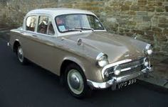 1957 Hillman Minx — this is what my mom drove me around in when I was a baby. (Dad had a big new Buick and she hated to drive it! Classic Trucks, Classic Cars, Aston Martin, Automobile, Bristol, Jaguar, Cars Uk, Lotus, Motor Scooters