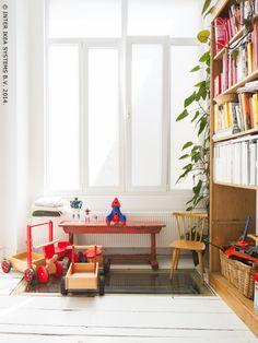 Binnenkijken bij Fabienne, Floris, Dauphin en Olivier in Antwerpen - IKEA FAMILY