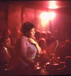 Ella Fitzgerald is the one person who really got me into Jazz last year. Her voice is so smooth and delicate. She sings with so much ease that it's soothing. She is truly amazing.
