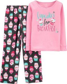 Cotton Pjs, Cotton Fleece, Cotton Logo, Pyjamas, Fleece Pjs, Night Suit, Night Wear, Carter Kids, Rainbow Outfit