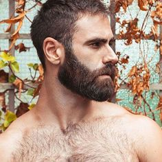 Ungroomed wild hair forces you to sense dirty and show off older. Shaving your product Hairy Hunks, Hairy Men, Bearded Men, Beard Styles For Men, Hair And Beard Styles, Short Beard, Big Beard, Man With Beard, Moustaches