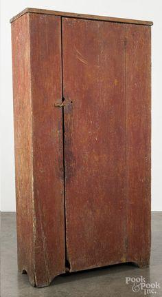 Blind door cupboard