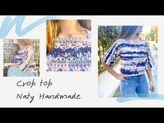 Μπλούζα crop top με βελονάκι - YouTube