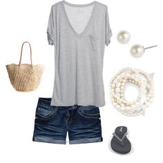 Honeymoon outfit! Goal #1: Get in shorts by our honeymoon!