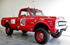 Steve McQueen's Baja 1000 racing Chevy heads to auction