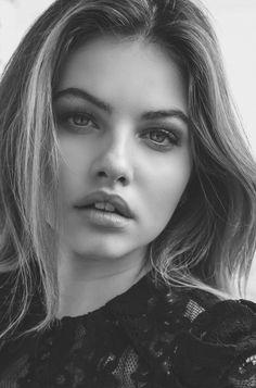 Thylane Blondeau by Isa Battaglin, LillyK. Beautiful Lips, The Most Beautiful Girl, Beautiful Women, Girl Face, Woman Face, Lysandre Nadeau, Face Aesthetic, Star Francaise, Thylane Blondeau