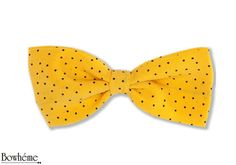 Pre Tied Polka Dots Bow TieSOLEGGIATO. by Bowheme on Etsy, $10.00