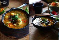 Фасолевый суп с перловкой, томатами и карри - HAPPYFOOD
