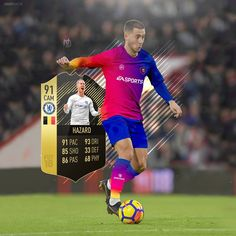 """754 Me gusta, 6 comentarios - NarrowDzn™ (@narrowdzn) en Instagram: """"Eden Hazard is the best player for me of the new team of the week 10, Do you agree with me?"""""""