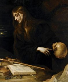 Magdalene with a Skull ~ by Mateo Cerezo…
