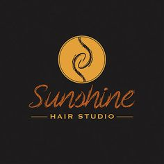Logo designed by RIS Designs for a local hairdressing studio… Graphic Design Studios, Logo Design, Hair Salon Logos, Hair Studio, Locks, Door Latches, Castles