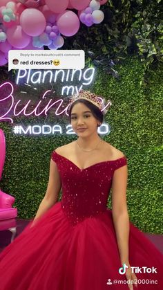 Sweet Sixteen Dresses, Sweet 16 Dresses, Sweet Dress, Red Ball Gowns, Ball Gown Dresses, Quince Dresses, Prom Dresses Blue, Mexican Quinceanera Dresses, African Wedding Attire
