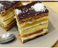 Przepis Na Ciasta Siostry Anastazji - myTaste.pl Polish Cake Recipe, Polish Recipes, Polish Food, Hungarian Desserts, Whats For Lunch, Food Cakes, Dessert Bars, Nutella, Cake Recipes