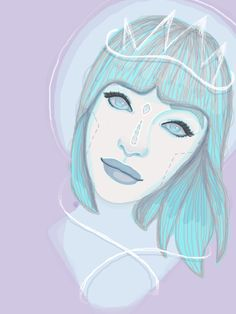 French Girls -- Galactic Series. on Behance