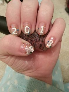 New years nails!