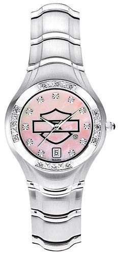 Harley-Davidson Women's Pink Label Collection Watch