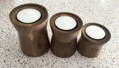 Walnut candle holders Cupboard, Candle Holders, Candles, Clothes Stand, Armoire, Crockery Cabinet, China Cabinets, Porta Velas, Candy