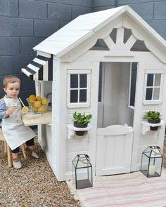 From Drab to Fab a Playhouse Renovation #playhousemakeover #playhousebuildingplans #playhouseideas