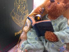 SOLD! Light-Up Bear Ornament by CoffeeCreekVintage on Etsy